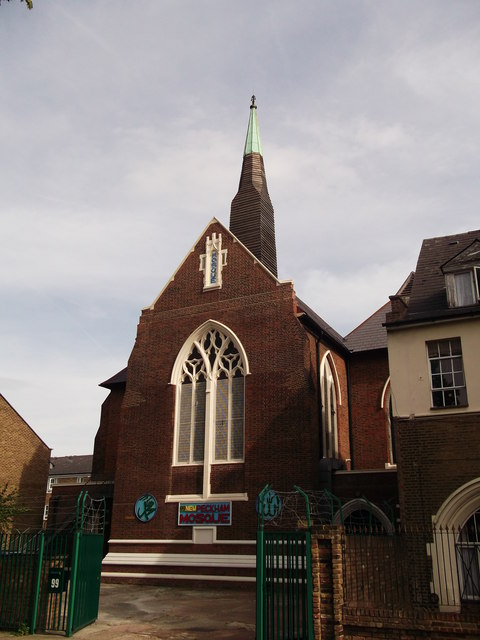 New Peckham Mosque, formerly St. Mark's Cathedral, is in London.