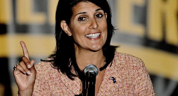 S.C. Gov. Nikki Haley