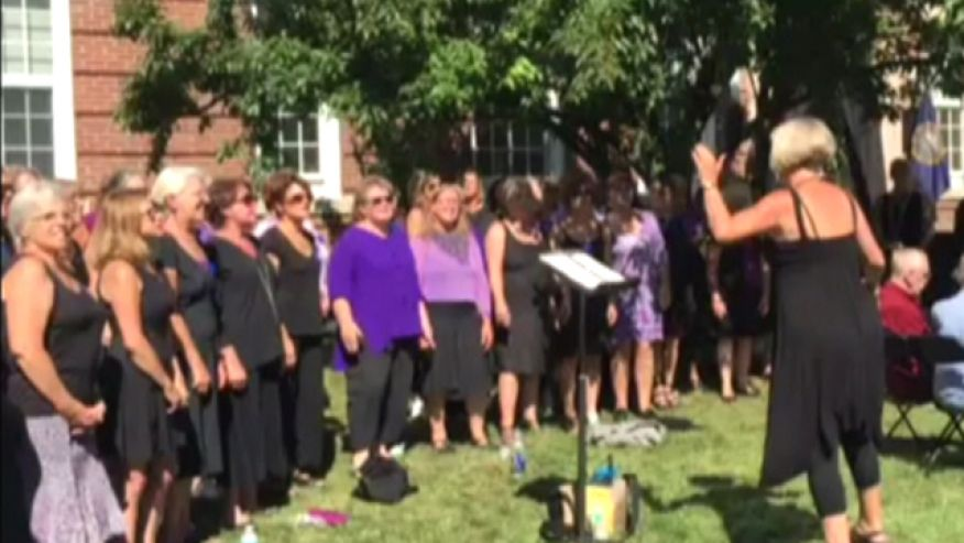 """Voices of the Heart is a """"women's alternative chorus."""""""
