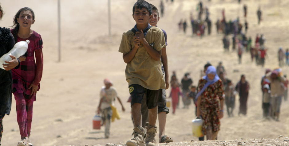 Thousands of Christians in Iraq and Syria have been displaced by ISIS terror.