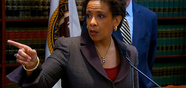 Loretta Lynch's Justice Department will place its crosshairs on  so-called 'right wing' attackers, who also happen to be its political enemies.