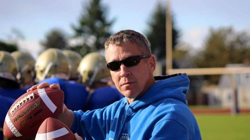 Bremerton High School Coach Joe Kennedy