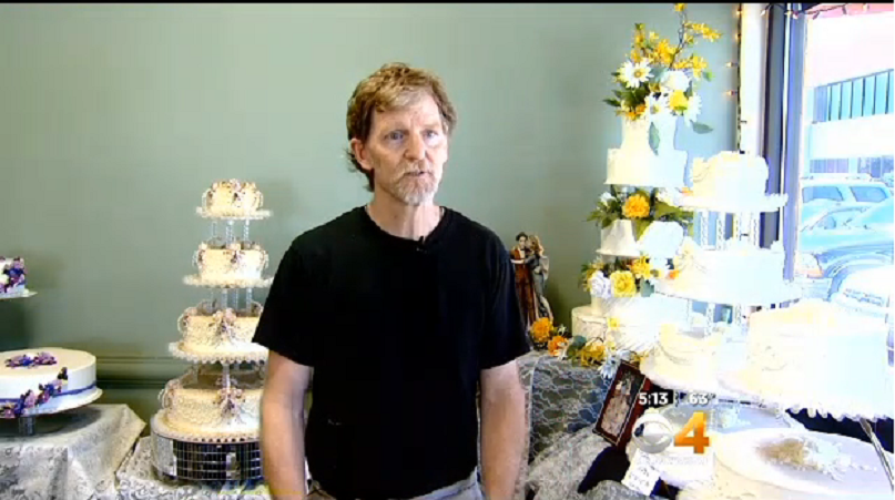 Jack Phillips owns Masterpiece Cakeshop in Lakewood.