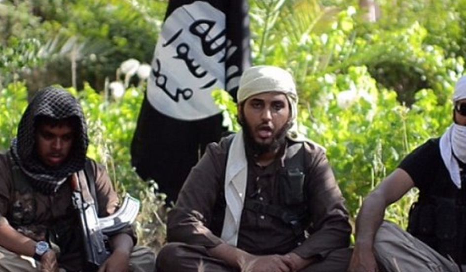 This screen capture is from an ISIS recruitment video (UK Daily Mail).