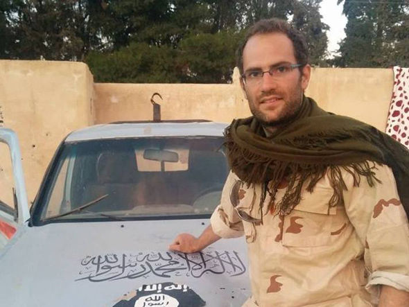 Macer Gifford is now fighting Islamic extremists in Syria.