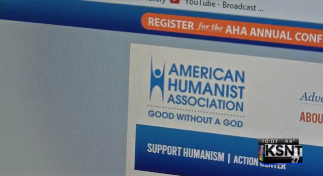 "The website of the ""American Humanist Association."""