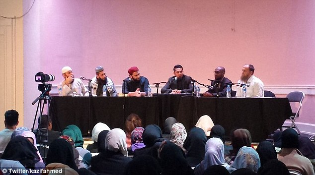 Panelists suggested that Muslims should be able to determine UK law according to Shariah and the Qu'ran.