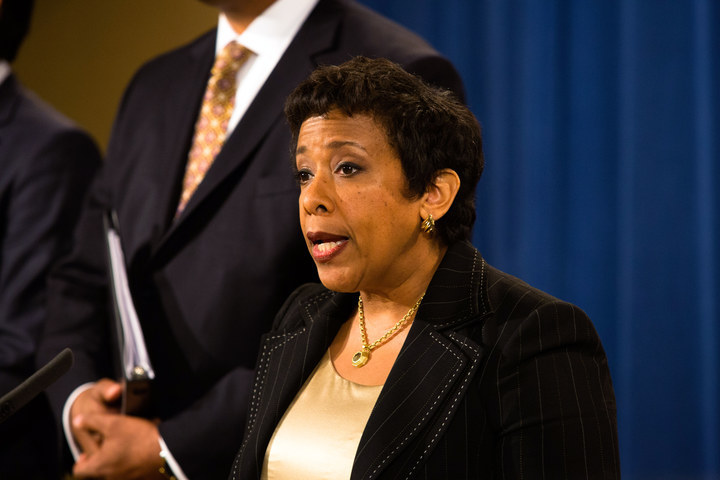 Attorney General Loretta Lynch: Society's reaction is more to be feared than the crime.