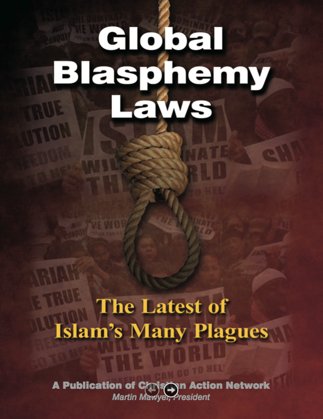 Click to download Christian Action Network's recent report on proposed global blasphemy laws.