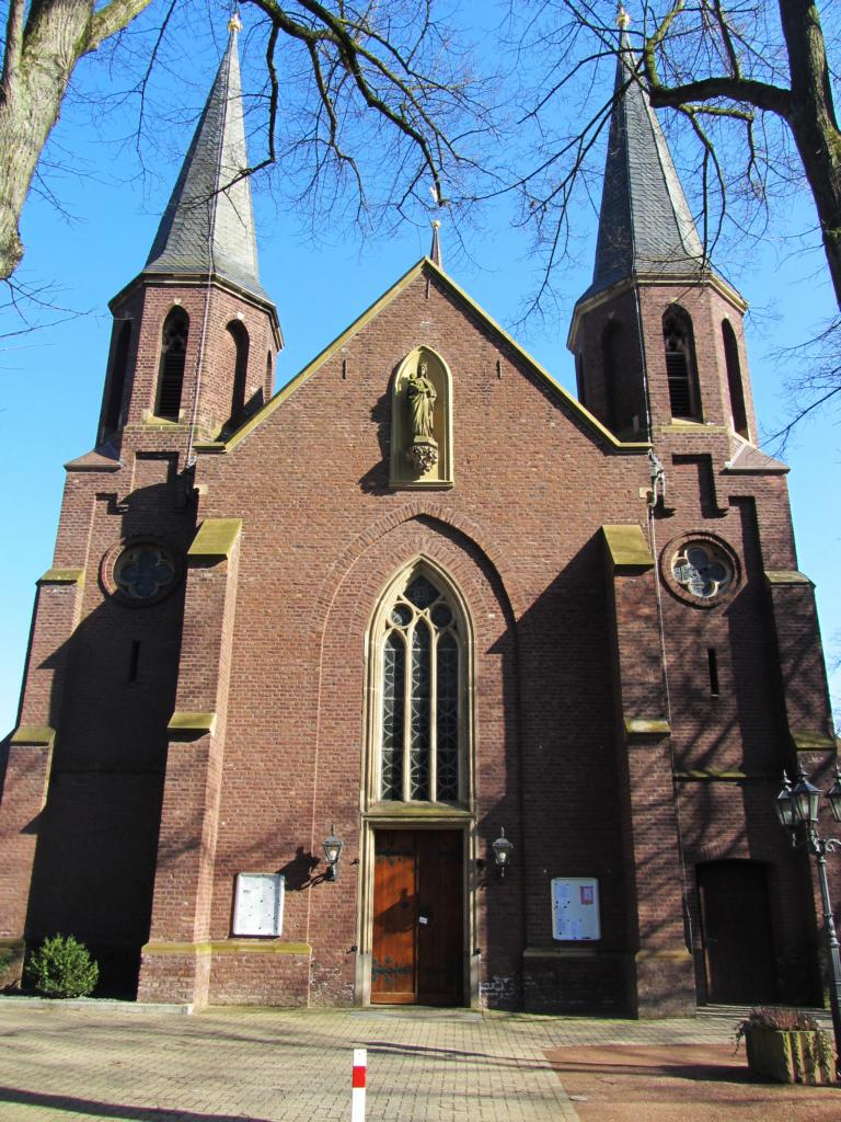 The Rheydter Marien Church in Mönchengladbach, Germany