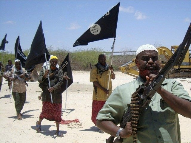 ISIS fighters on parade in Africa