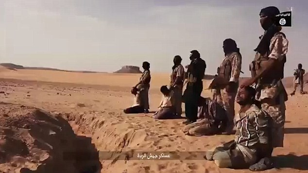 They 21-minute long video shows ISIS militants training in the desert wearing camouflaged traditional clothing.