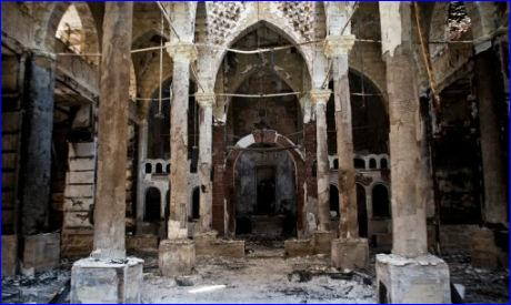 The Amir Tadros coptic Orthodox Church in Minya, some 250 km south of Cairo, was set ablaze on August 14, 2013