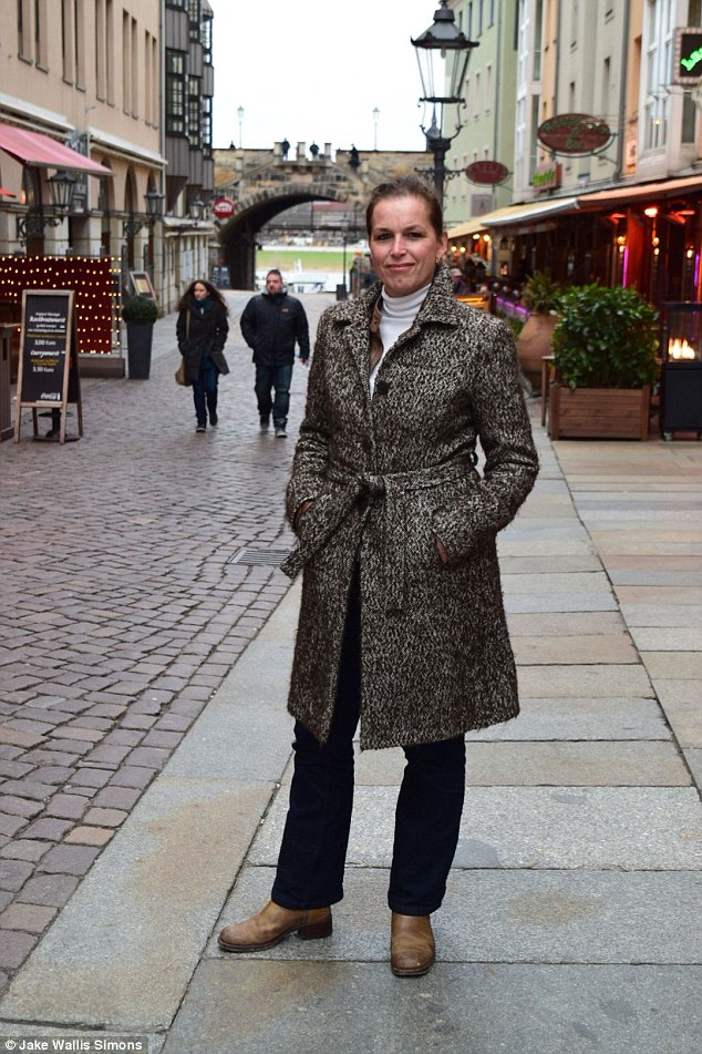 Tatjana Festerling, 51, told MailOnline that people should fight the 'Islamisation of Europe'