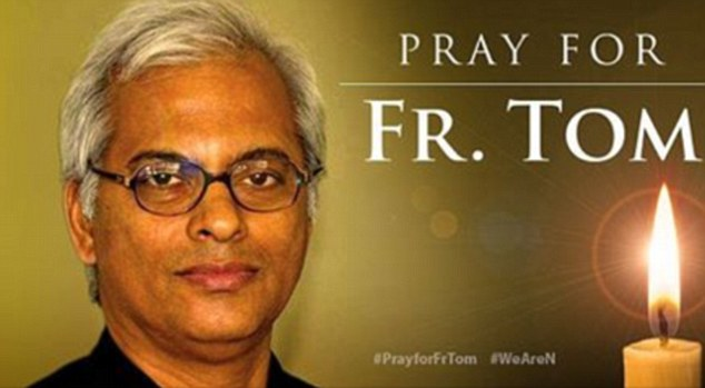 Father Tom Uzhunnalil was kidnapped by ISIS gunmen in Yemen, and fears grow that the Indian Catholic priest will be crucified on Good Friday
