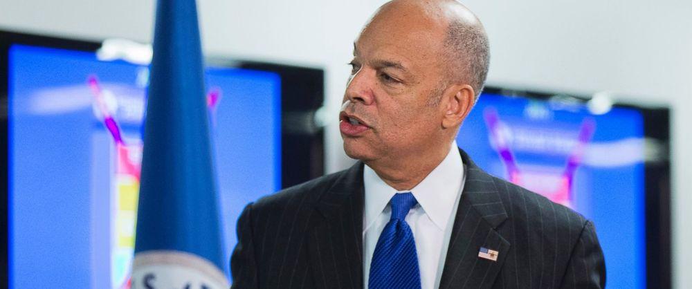 Homeland Security Secretary Jeh Johnson