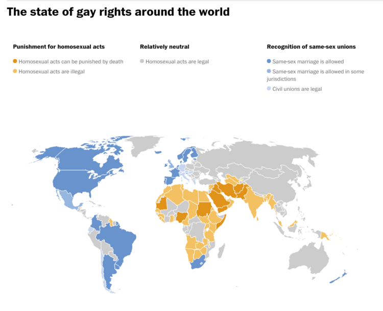 Map Of Christian Countries Map Of Christian Persecution Map - Christian countries in the world map