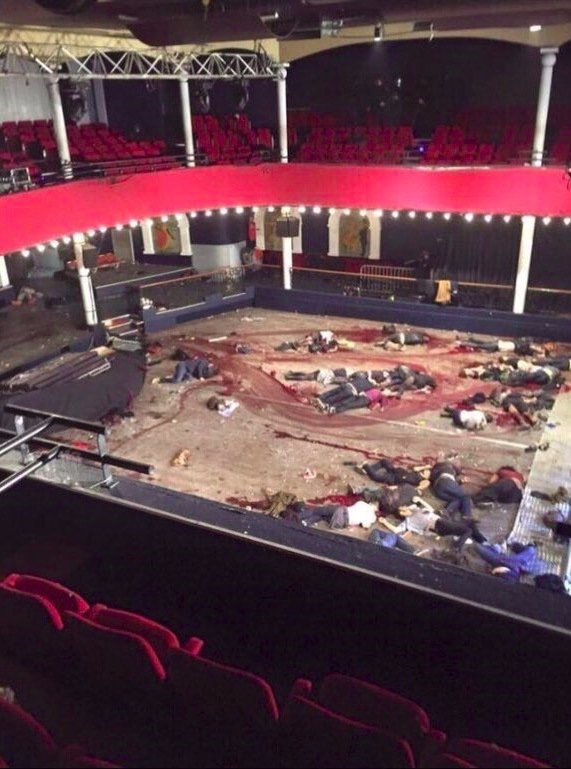 Islamists murdered 89 concertgoers at the Bataclan theater in Paris in November.