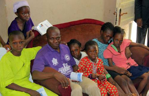 The husband and seven children of late Eunice Olawale Elisha