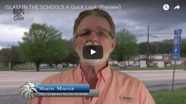 """Preview for CAN's latest film """"Islam In The Schools A Quick Look"""". To order the full version and learn more about this topic visit us at www.ChristianAction.org"""