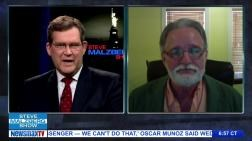 "Martin Mawyer on the Steve Malzberg Show discussing ""Access Islam."""