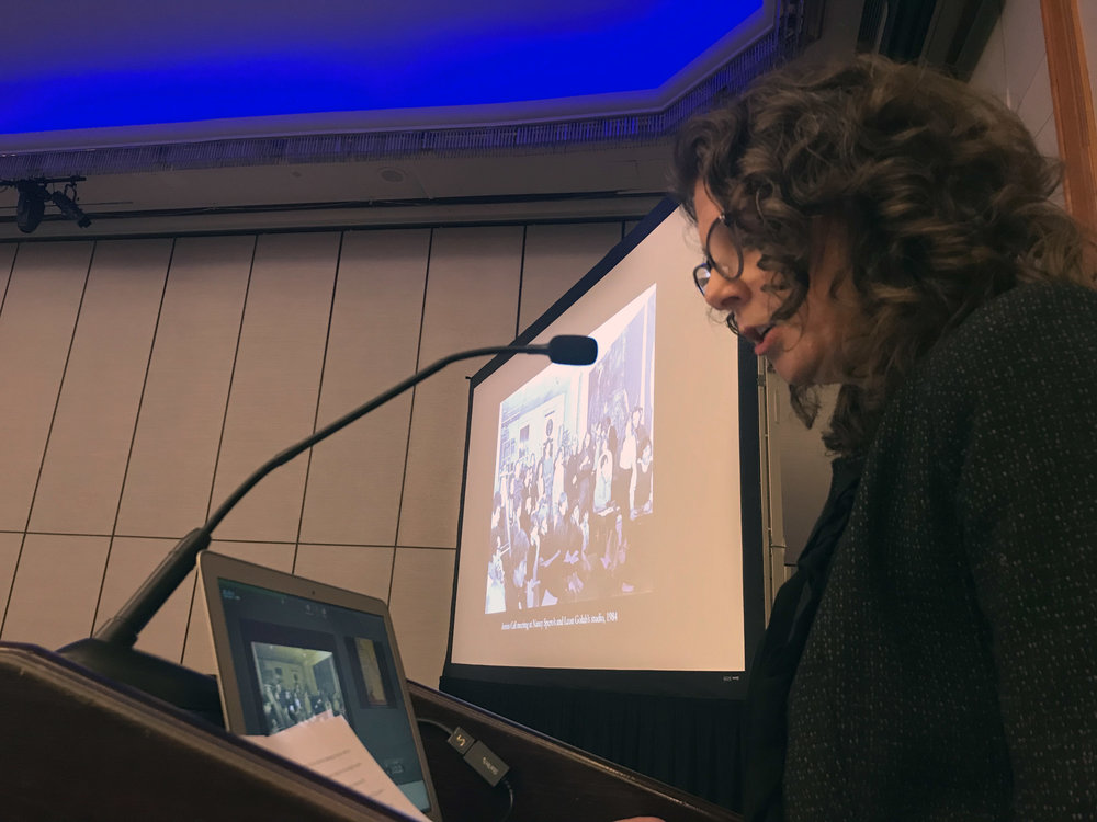 "- On February 14, 2019, Muriel Hasbun and Erina Duganne gave a collaborative presentation at the ""Letters to Lucy"" panel at the College Art Association's annual conference in New York."