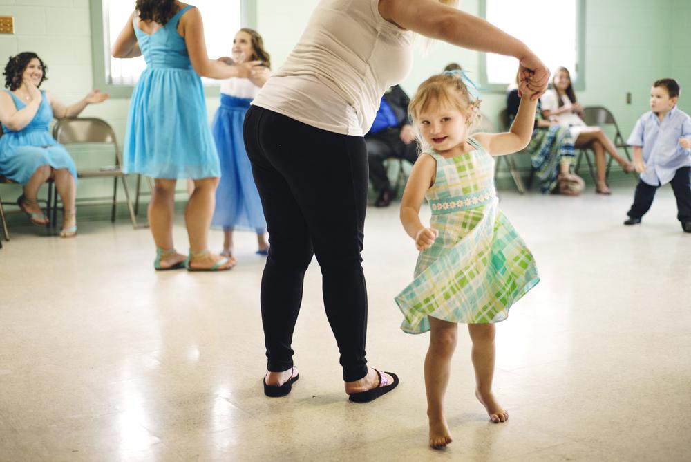 dancing a lot
