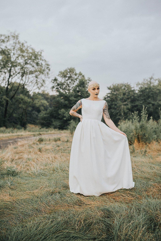 Bald bride | Pittsburgh wedding photographer