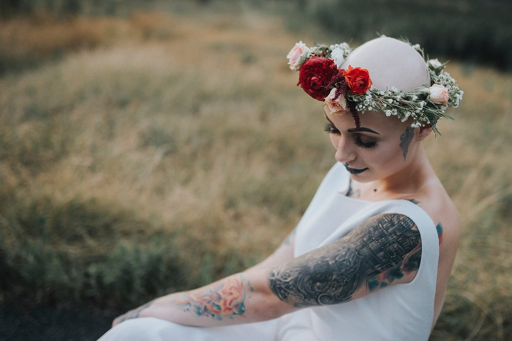 Bald Bride