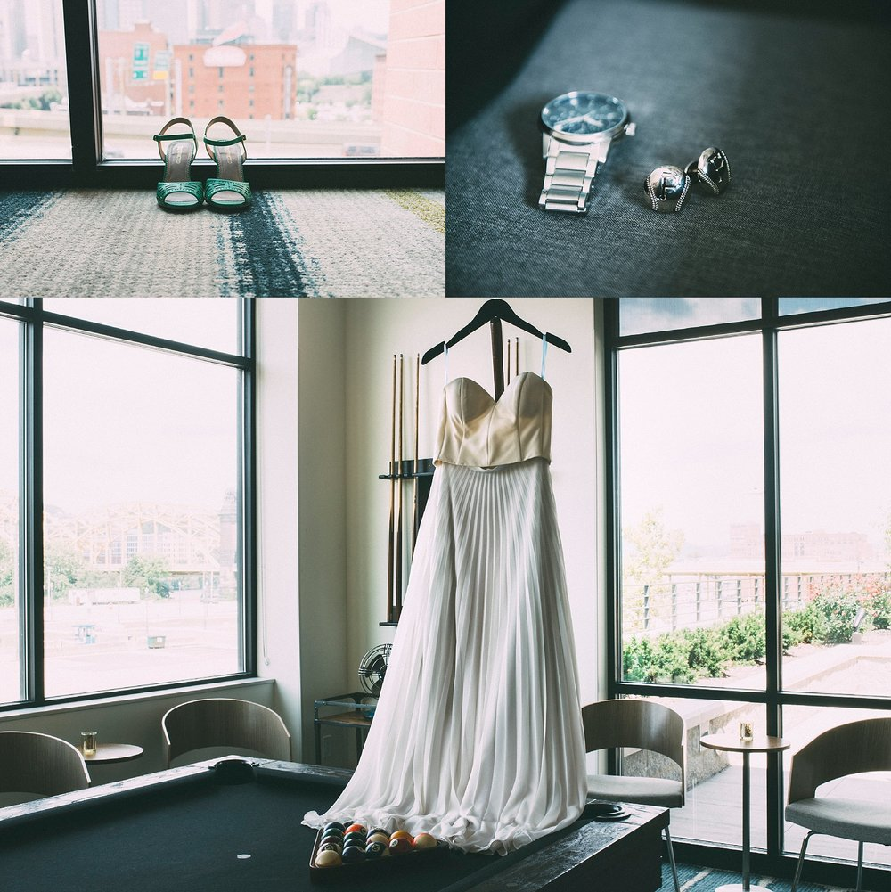 Homewood Suites Hotel Wedding Pittsburgh