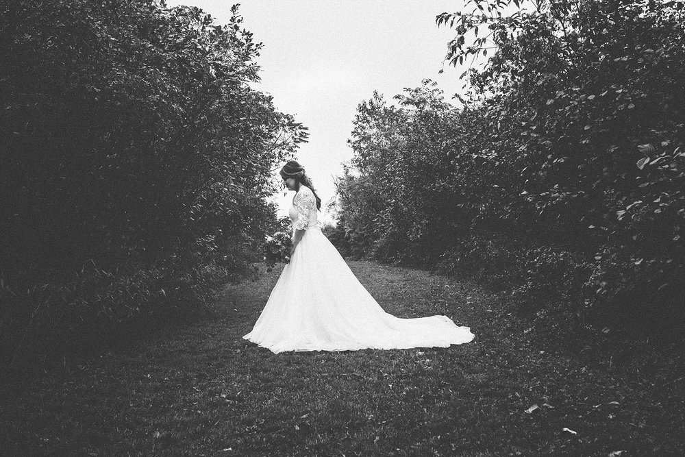 Bride Black and white - Pittsburgh wedding