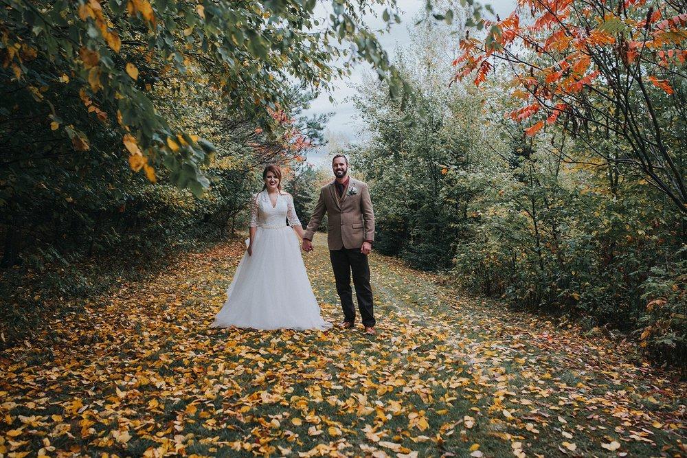 Fall Pittsburgh wedding