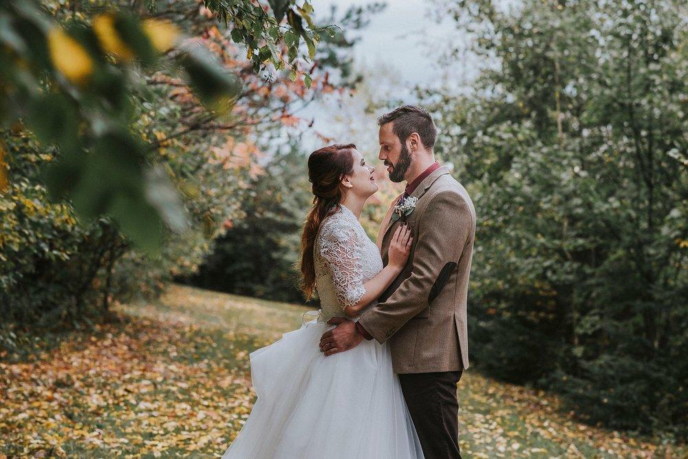 Wedding on rainy day Pittsburgh