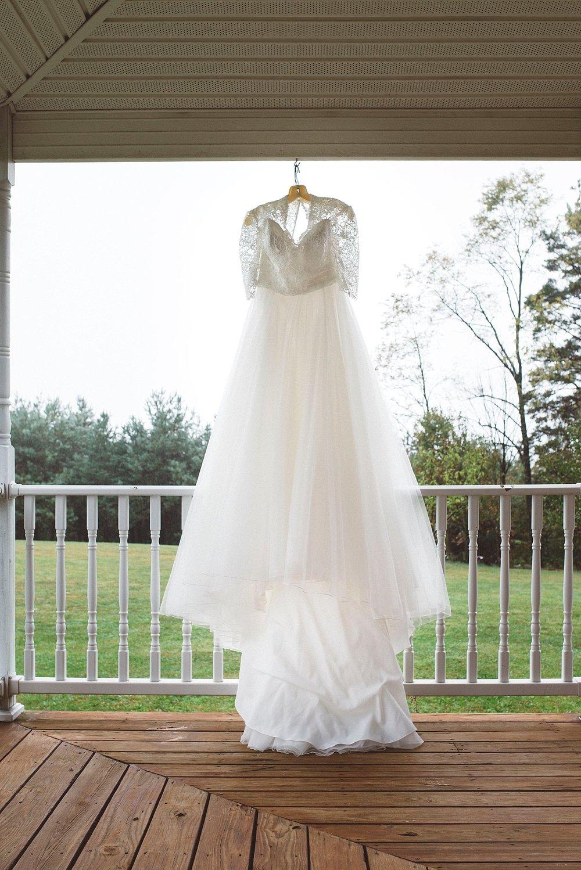 Wedding dress Pre ceremony - Pittsburgh wedding photographer
