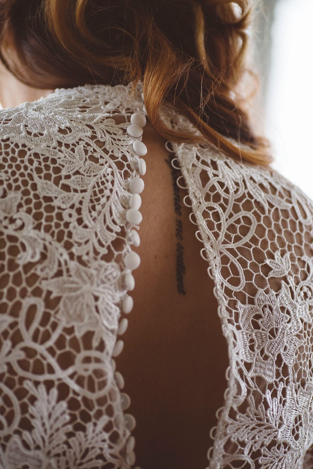 Lace detail Pittsburgh wedding photographer