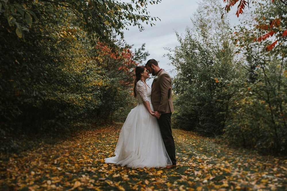 Pennsylvania wedding Fall