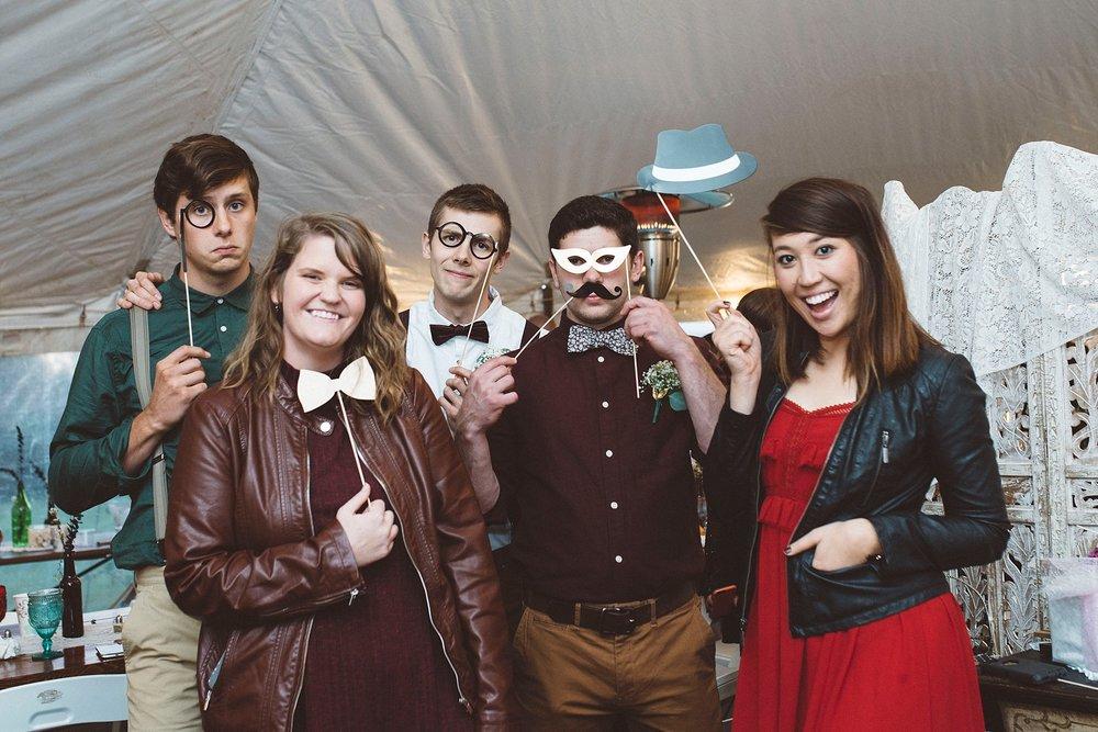 DIY wedding photobooth - Sandrachile Pittsburgh