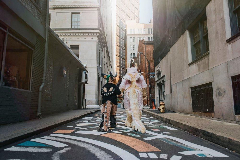 Pittsburgh Alternative Wedding Photographer