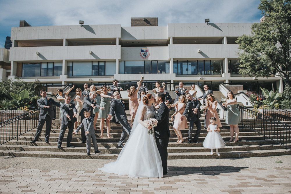 Duquesne wedding- Pittsburgh