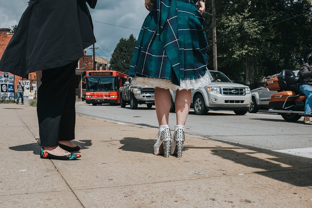 Pittsburgh Hipster Wedding Photographer