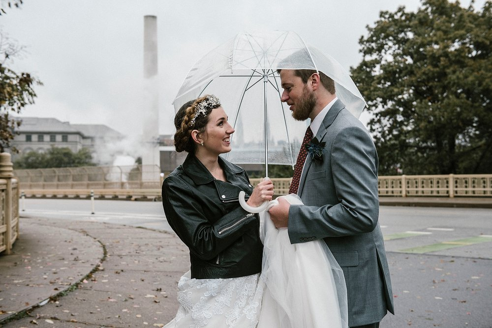 Schenley Bridge lock Pittsburgh wedding Sandrachile