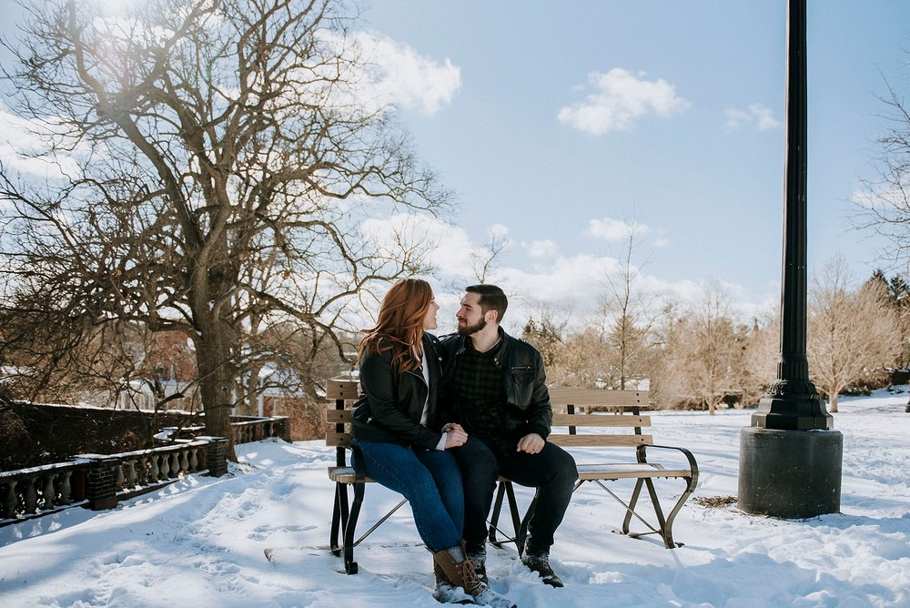 wedding photography winter