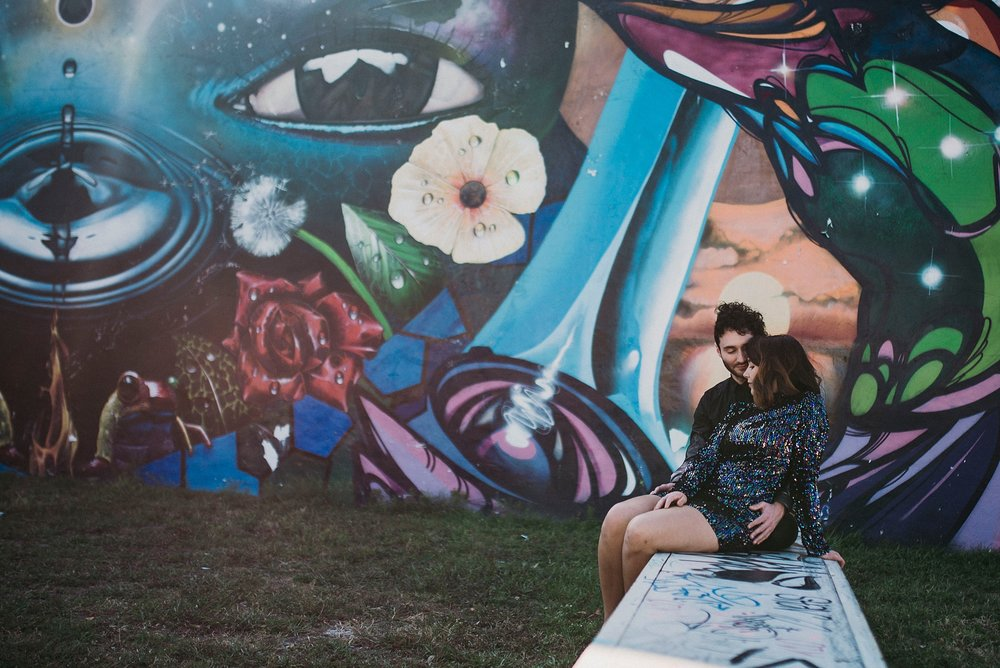 Engagement Wynwood walls