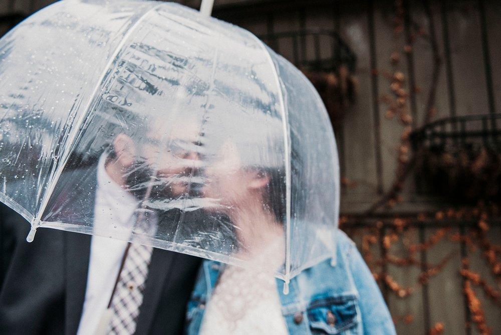 pittsburgh rainy wedding