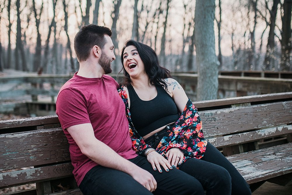 vegan engagement photographer