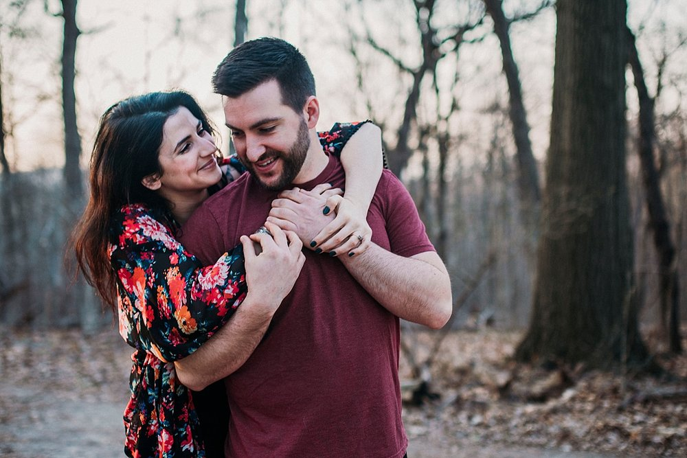 sunrise engagement session pittsburgh