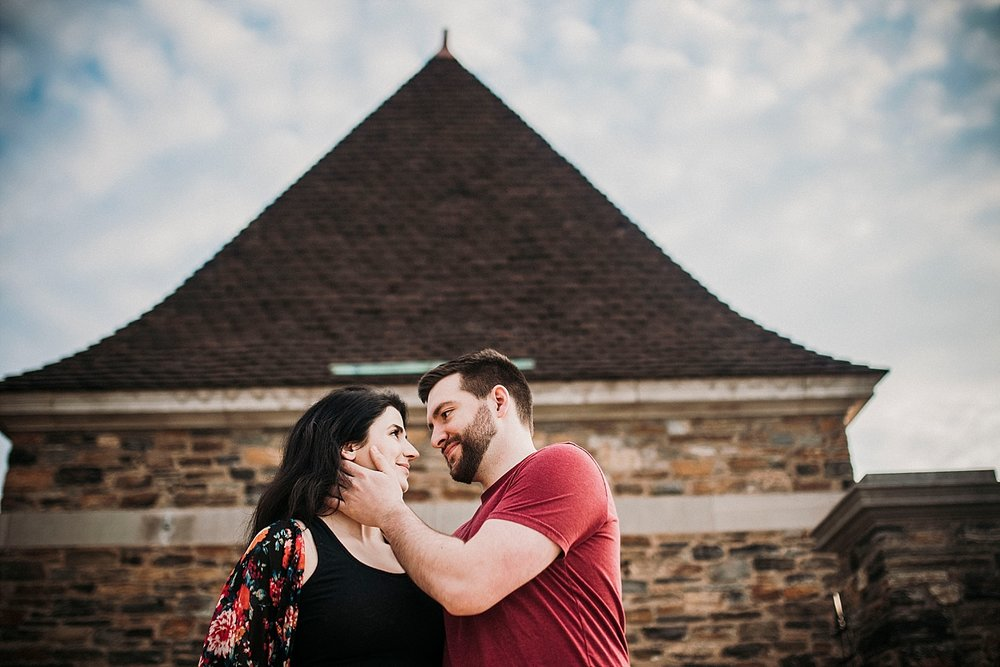 Frick Park Engagement session