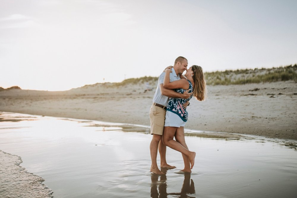 Couple photography at the beach