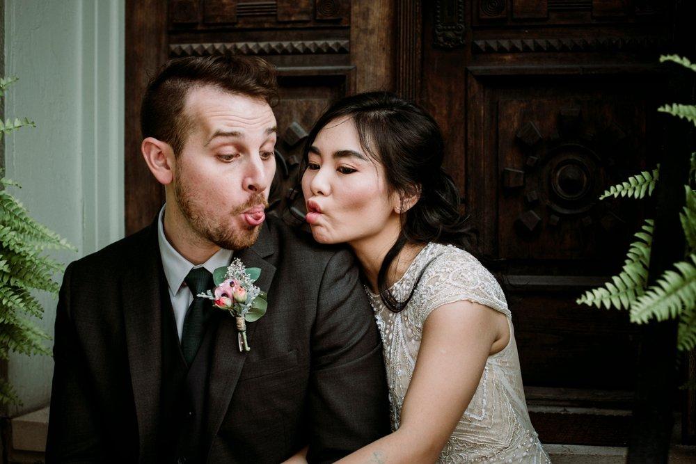 chinese girl american boy wedding