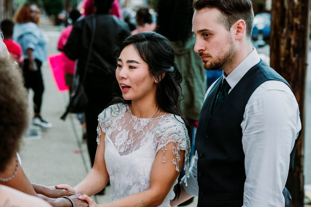 Wedding with social impact